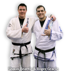Shaun Beattie and Roger Gracie